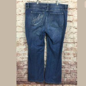 Harley Davidson jeans Women 16 Embellished Boot